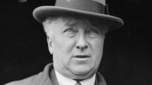 United Australia Party Prime Minister Joseph Lyons.