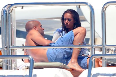 Why are they in Cannes? Stephen's a film producer, having worked on <i>Thank You for Smoking</i> and <i>Bad Lieutenant</i>.