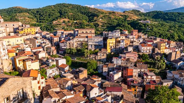 Panoramic view of Castiglione di Sicilia