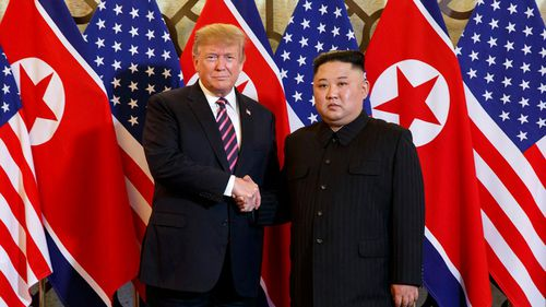 North Korea's Kim Jong-un receives 'excellent' letter from Trump