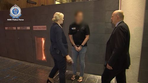 Police will allege in court that the Coffs Harbour-based man believed he was speaking with a 32-year-old woman who was the mother of an 11-year-old girl.