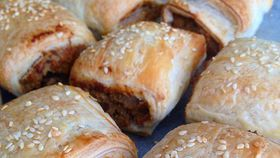 Renae Smith's vegetarian sausage rolls