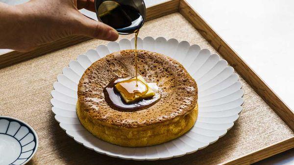 Japanese soufflé hotcakes