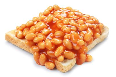 Baked beans: About 15 micrograms per ¾ cup (175ml)
