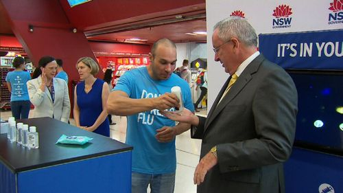 The campaign urges people to take steps to reduce the spread of flu. (9NEWS)