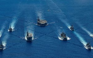 Australian warships join US and Japan navies in military drills amid tensions with China