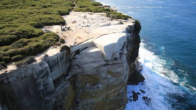 <p>A popular scenic spot south of Sydney has been cordoned off from the public.</p><p>The Wedding Cake Rock, in the Royal National Park in Bundeena, could collapse without warning, experts say. </p><p><strong>Click through for images of the picturesque spot.</strong></p>