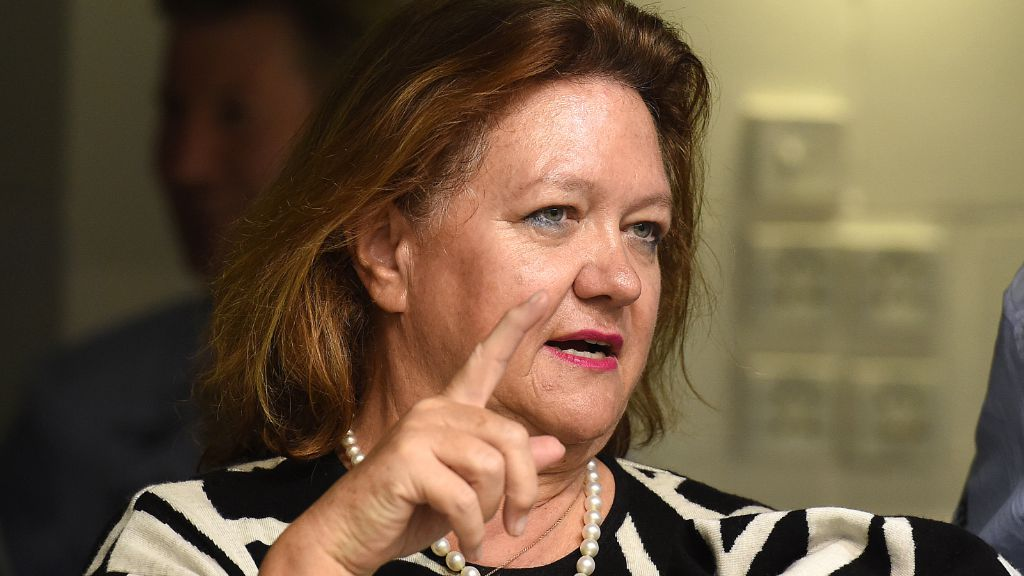 Mining magnate Gina Rinehart. (AAP)
