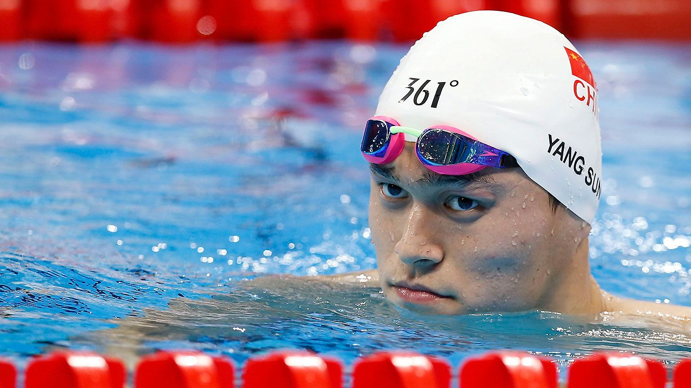 Sun Yang in danger of seeing suspension doubled after apparent breach