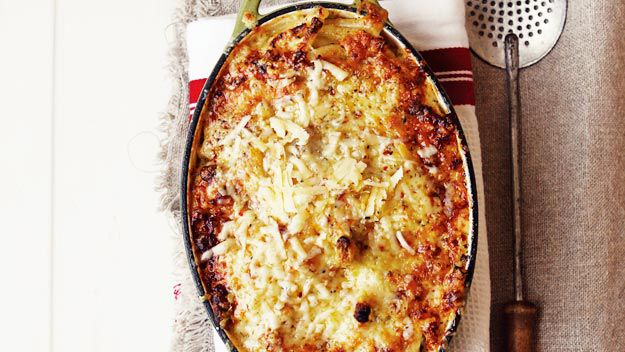 Chilli macaroni cheese
