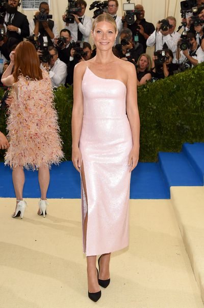 Gwyneth Paltrow in Valentino at the 2017 Met Gala  in New York City
