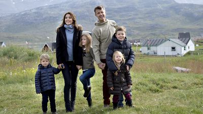 The Royal family in Greenland, 2014