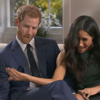Prince Harry and Meghan Markle behind the scenes: November 27, 2017