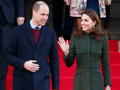 Prince William and Kate Middleton's first joint royal outing of 2020