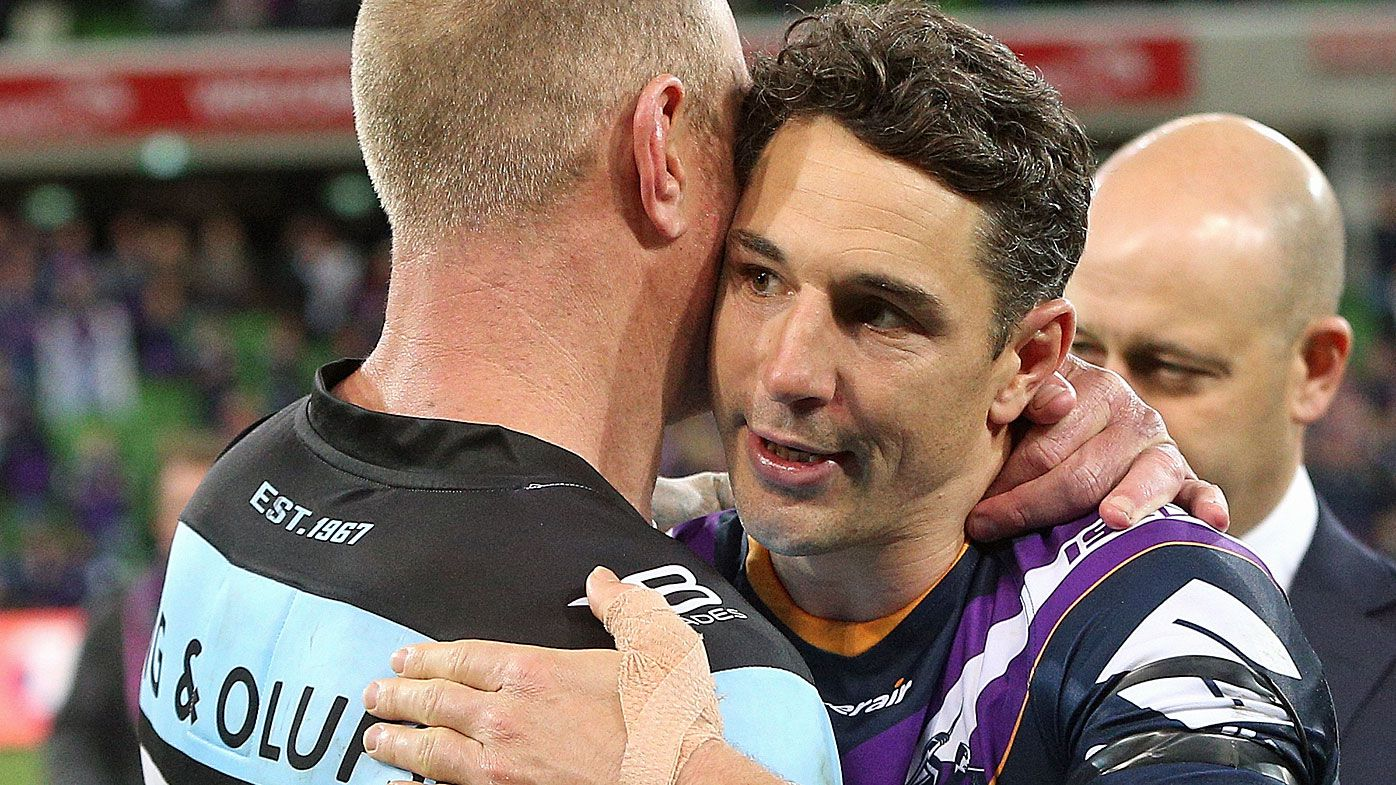 Cronulla's Luke Lewis defends Billy Slater 'shoulder charge' challenge