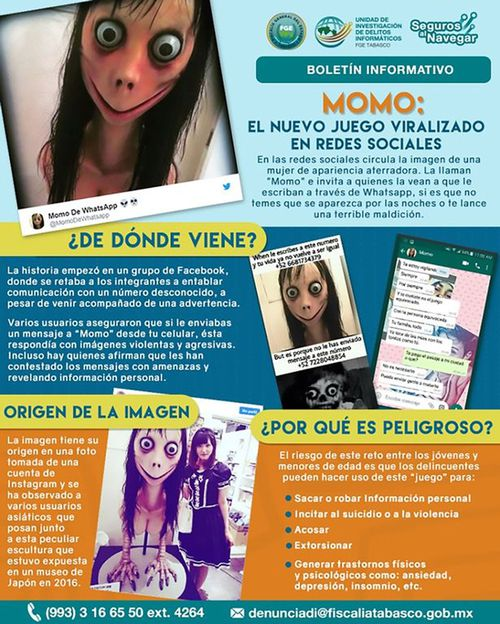 The game has become so popular and dangerous in South American countries, warnings have been released by authorities.