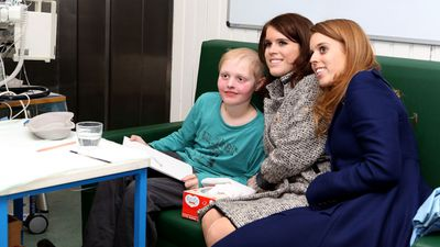 Princess Eugenie's childhood operation