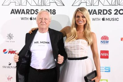 Sophie Monk and father Andrew