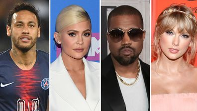Kylie Jenner, Neymar, Kanye West, Taylor Swift Forbes reveals World's Highest-Paid Entertainers for 2019