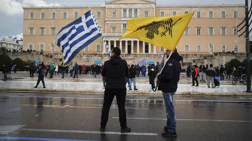Under the deal, Macedonia changes its name to North Macedonia, and Greece drops its objections to the country joining NATO and eventually the European Union.