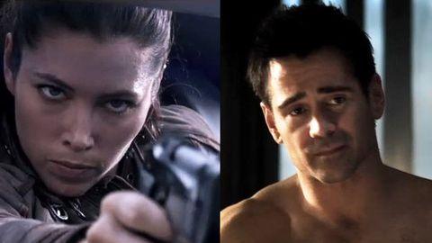 'Jessica Biel terrifies me': Colin Farrell scared of Total Recall co-star