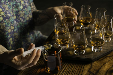 Archie Rose whisky blending class