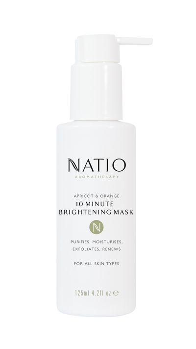 "<p><a href=""https://www.natio.com.au/skincare-special-treatments/apricot-orange-10-minute-brightening-mask"" target=""_blank"">Apricot & Orange 10 minute Brightening Mask, $19.95, Natio</a></p>"