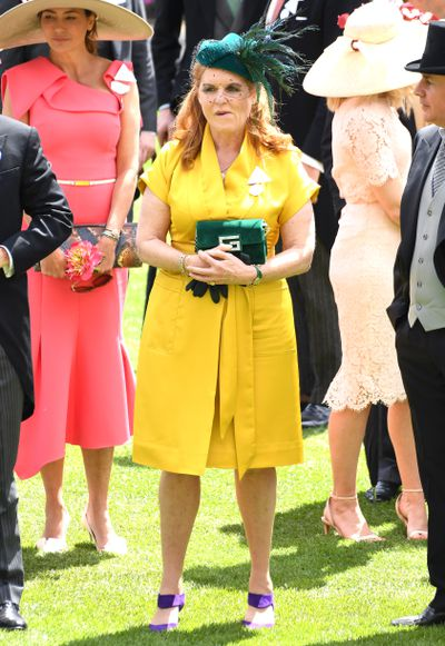 The Duchess of York's fashionable outfit