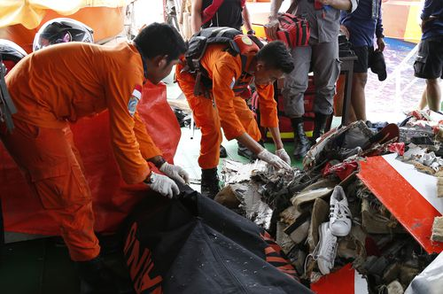 Lion Air flight JT-610 lost contact with air traffic controllers soon after takeoff then crashed into the sea. The flight was en route to Pangkal Pinang, and had 189 people onboard.