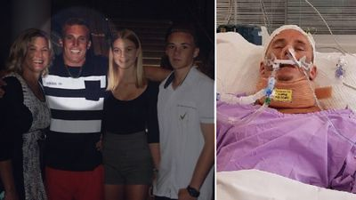 'Family rock' Brock Prime clings to life after 'cowardly' attack