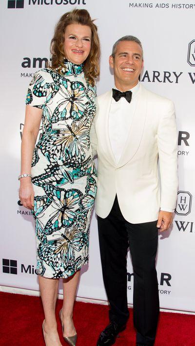 <p>Sandra Bernhard and Andy Cohen</p>