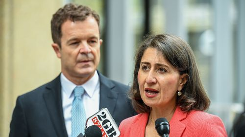 NSW Premier Gladys Berejiklian and Attorney General Mark Speakman introduced the reforms today. (AAP)