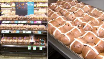 Too soon? Hot cross buns hit supermarket shelves