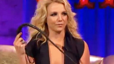 Slavedriver! Britney whips people and screams 'Work, Bitch!' on talk show