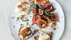 Honey and thyme roasted figs