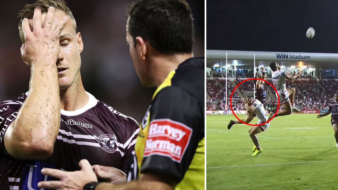 NRL: Touch judge dropped after Manly Sea Eagles escort error