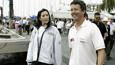 Princess Mary and Prince Frederik, 2005