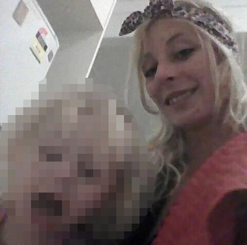 """She described herself as a """"full time mummy"""" to her young daughter. Picture: Facebook"""
