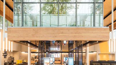 McDonald's new flagship store in Chicago