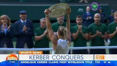 Wimbledon champion Angelique Kerber returning to Sydney