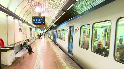 The City Loop covers some of Melbourne's most popular stations. (9NEWS)