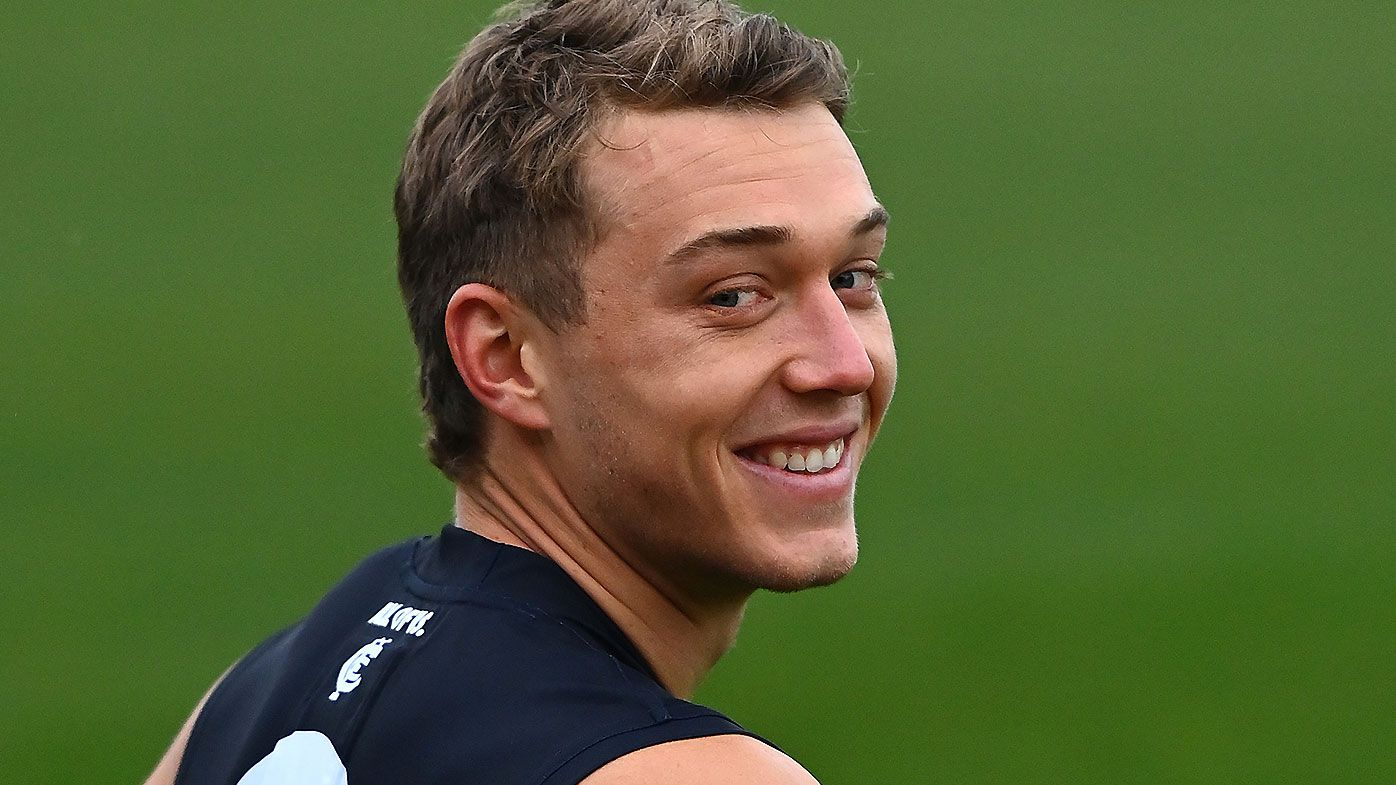 'We know actions do the talking': Patrick Cripps confident of breaking Carlton's finals drought