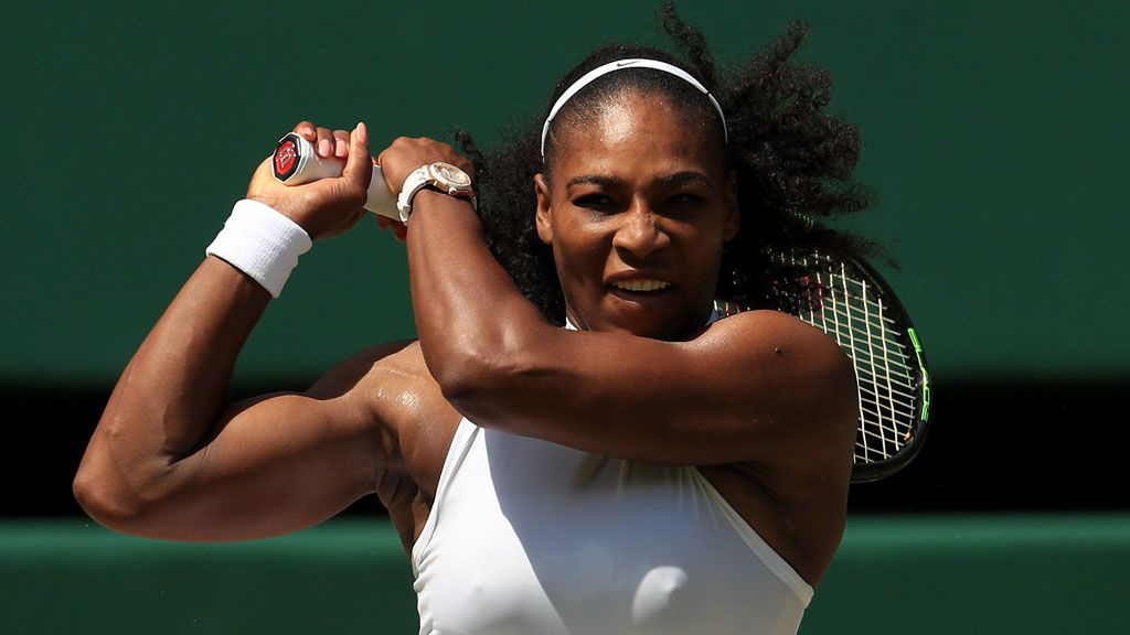 Serena defends equal prize money despite record romp