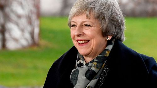UK Prime Minister Theresa May visits European leaders in a bid to save her Brexit deal.