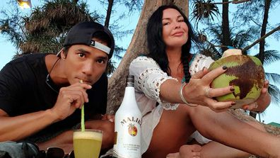Schapelle Corby and Ben Panangian.