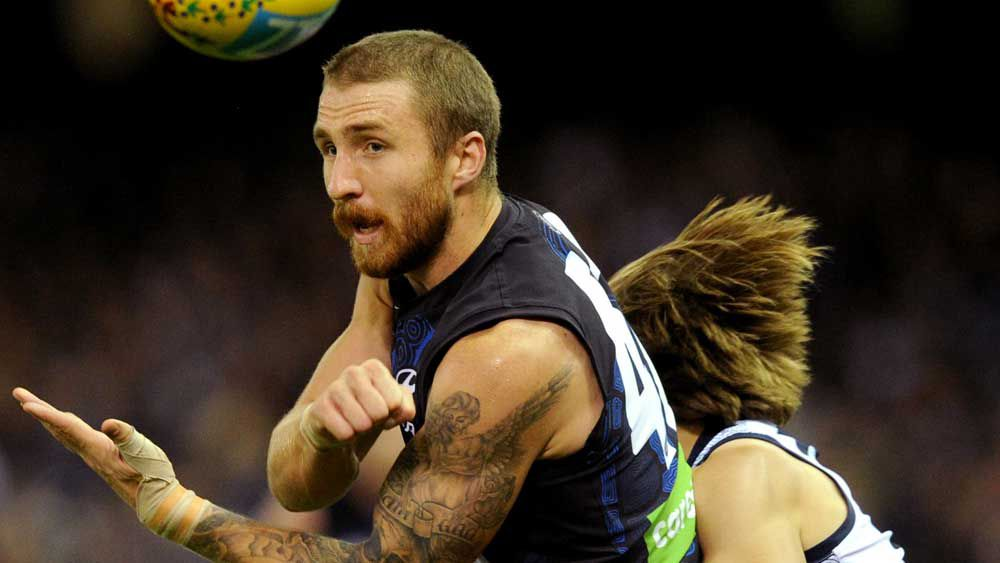 New Geelong defender Zach Tuohy. (AAP)