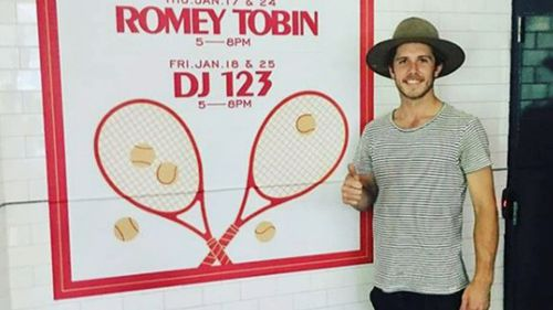 Singer Jules Tobin, who goes by the stage name 'Romey Tobin', is among six people charged over the attack.