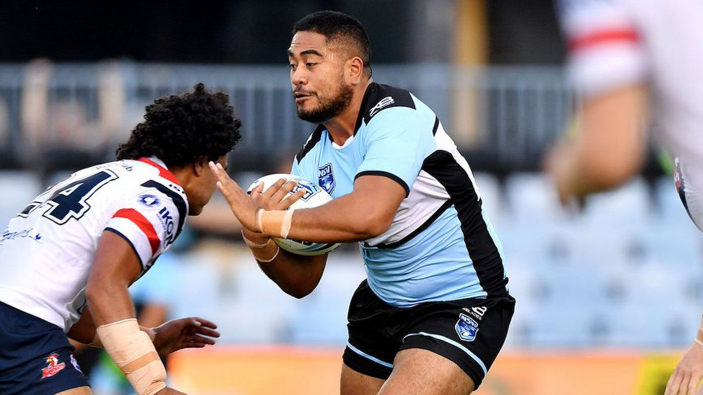 Cronulla Sharks young star Fine Kula diagnosed with brain cancer