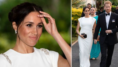 Meghan Markle & Prince Harry's Plane Forced To Abort Landing In Sydney