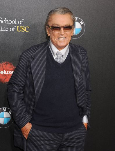 Robert Evans arrives at the 2nd Annual Rebel With A Cause Gala at Paramount Studios on March 20, 2014 in Hollywood, California